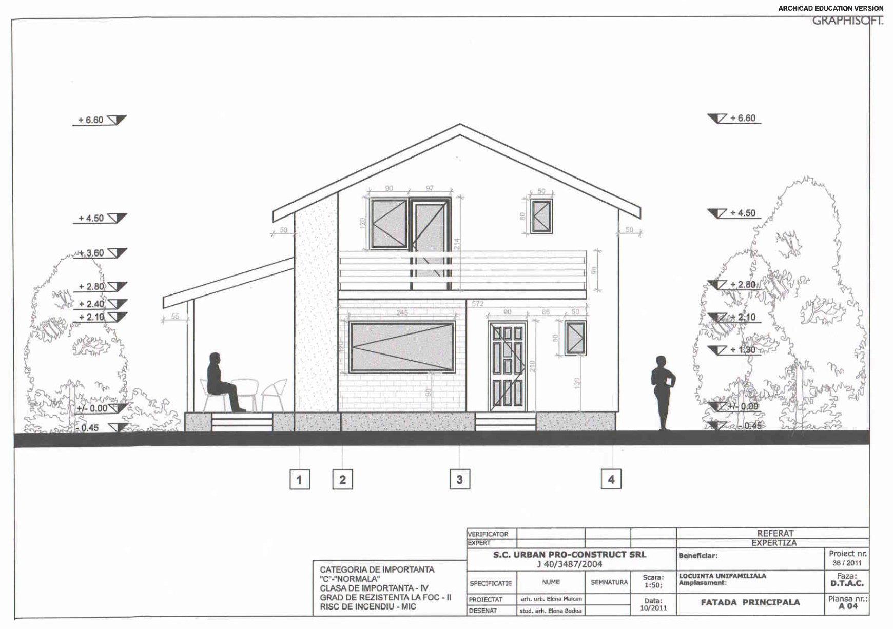 Constructii case din lemn cu proiect grafic