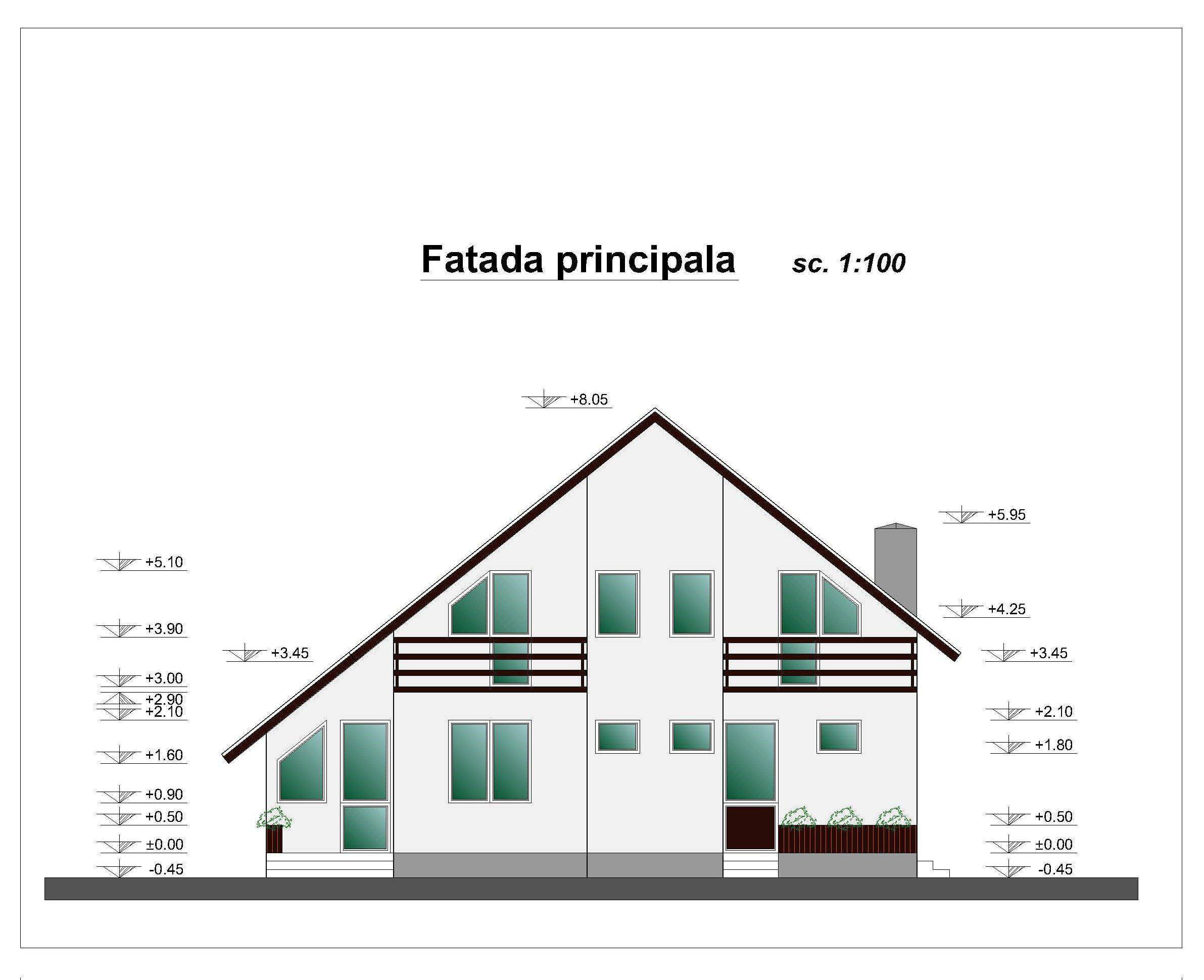 Constructii case din lemn 189 mp