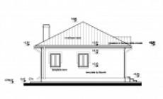 Constructii case din lemn cu acoperis tabla