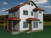 Constructii case din lemn 1