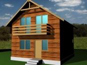 Constructii case din lemn 5