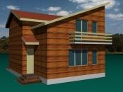 Constructii case din lemn 6