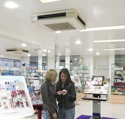 Echipament climatizare caseta tavan aplicata
