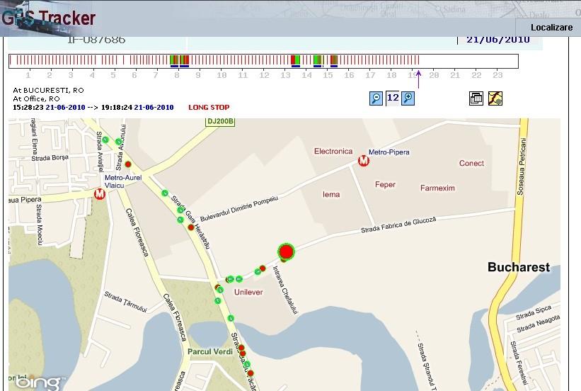 GPS pentru localizare