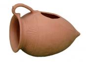 Articole ceramica de gradina culoarea caramizii