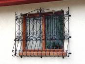 Gratii metalice ferestre
