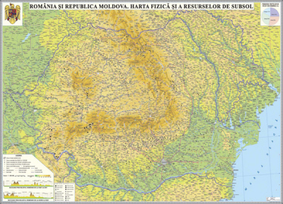 Harti marimi uriase Geografie