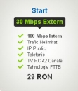 Internet, TV, telefonie abonament Start