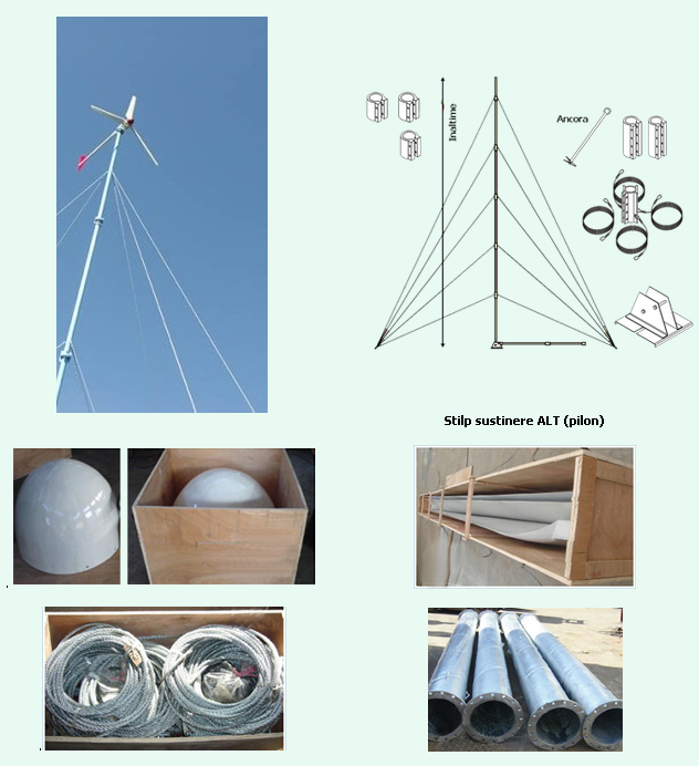 Turbine eoliene 1kW - 10kW