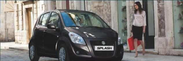 Vanzari auto Suzuki Splash