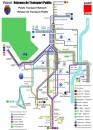 Harta trasee autobuze Pitesti