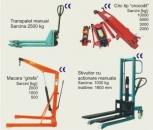 Echipamente hidraulice manuale