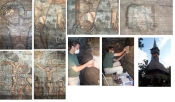Restaurare picturi biserica lemn