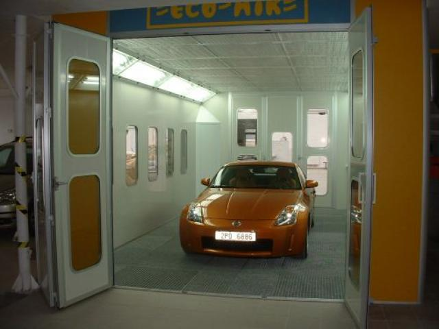 Cabine vopsire-uscare auto