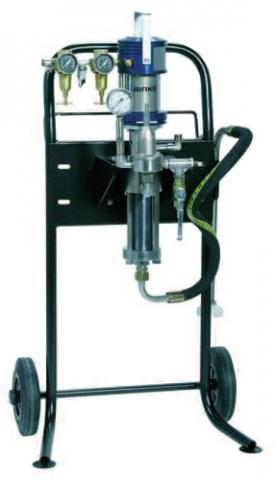 Echipamente aplicare vopsea lichida presiune joasa