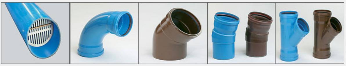 Fitinguri PVC canalizare