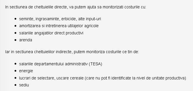 Aplicatii ERP agricultura