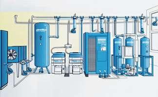 Uscare aer comprimat prin refrigerare