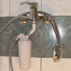 Purificator de apa pentru dus