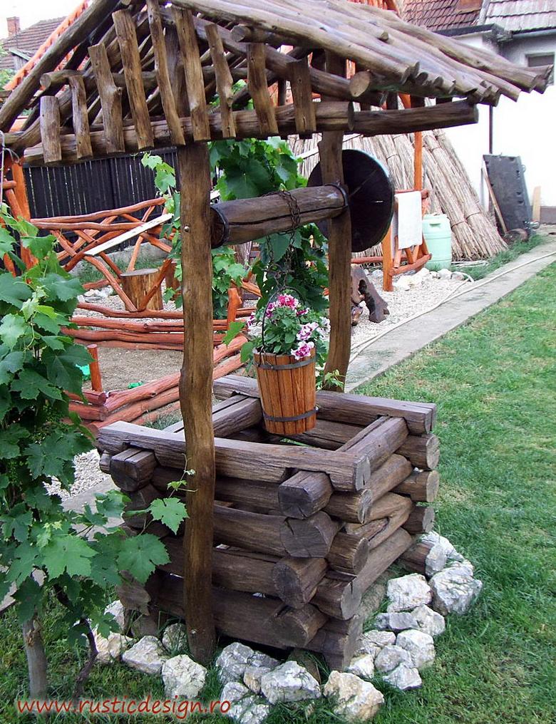 Fantani decorative lemn