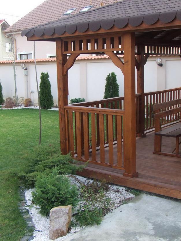 Foisoare gradina din lemn