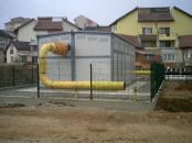 Executie bransament gaze