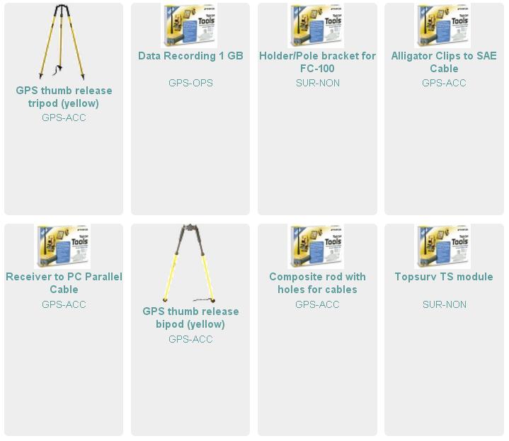 Accesorii echipamente geodezice