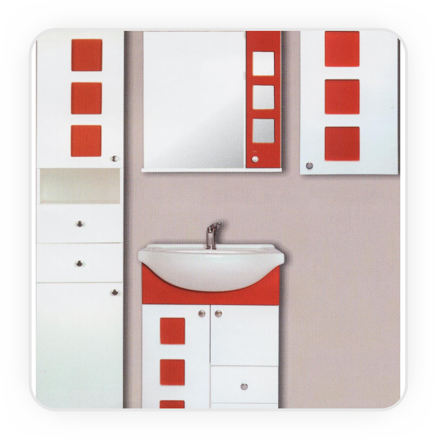 Mobilier baie MDF  Mobilier baie MDF