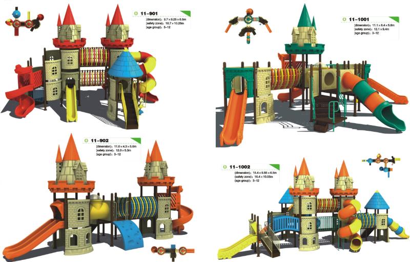 Locuri de joaca din plastic si metal Baia Mare