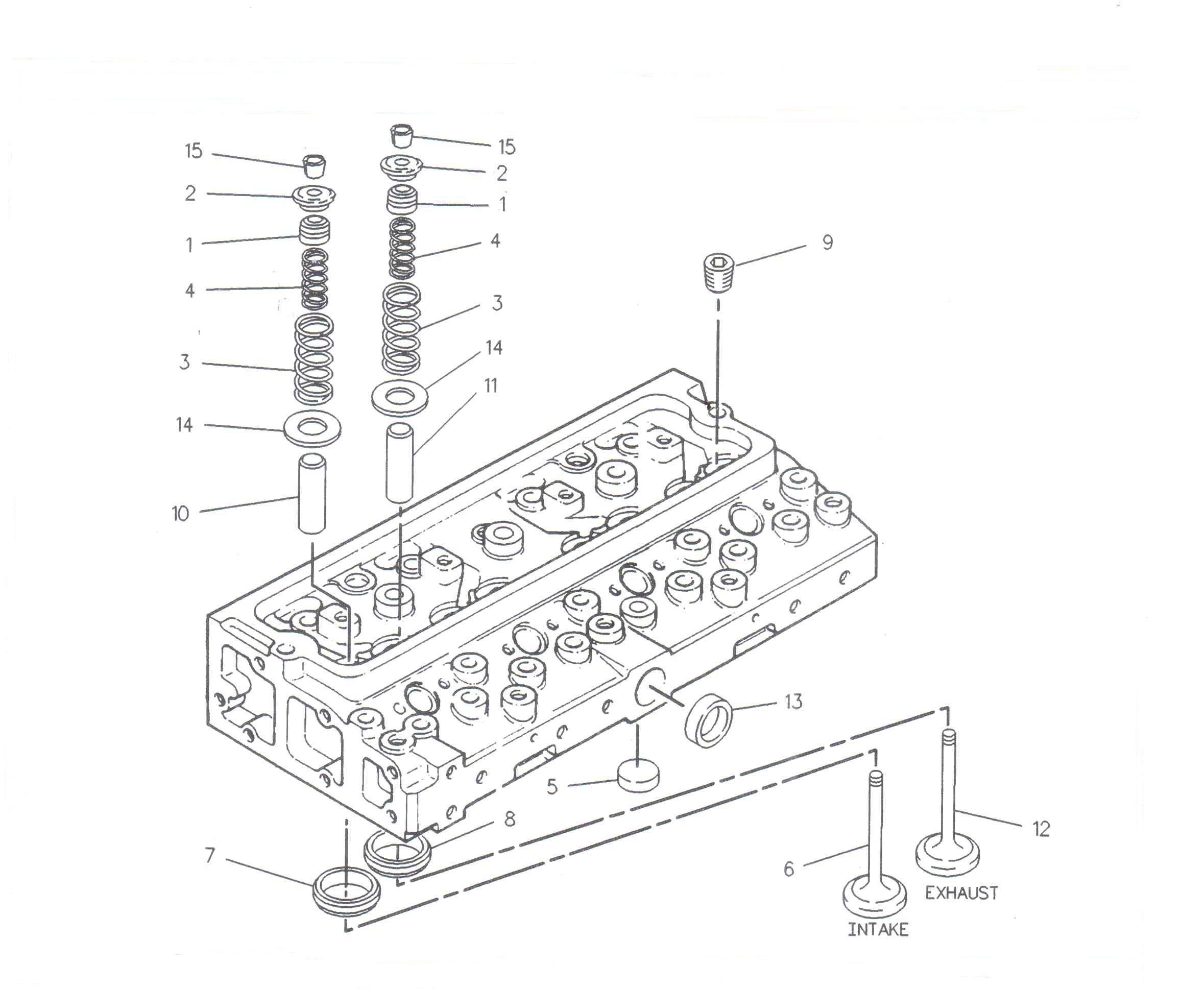 Biela motor utilaje JCB