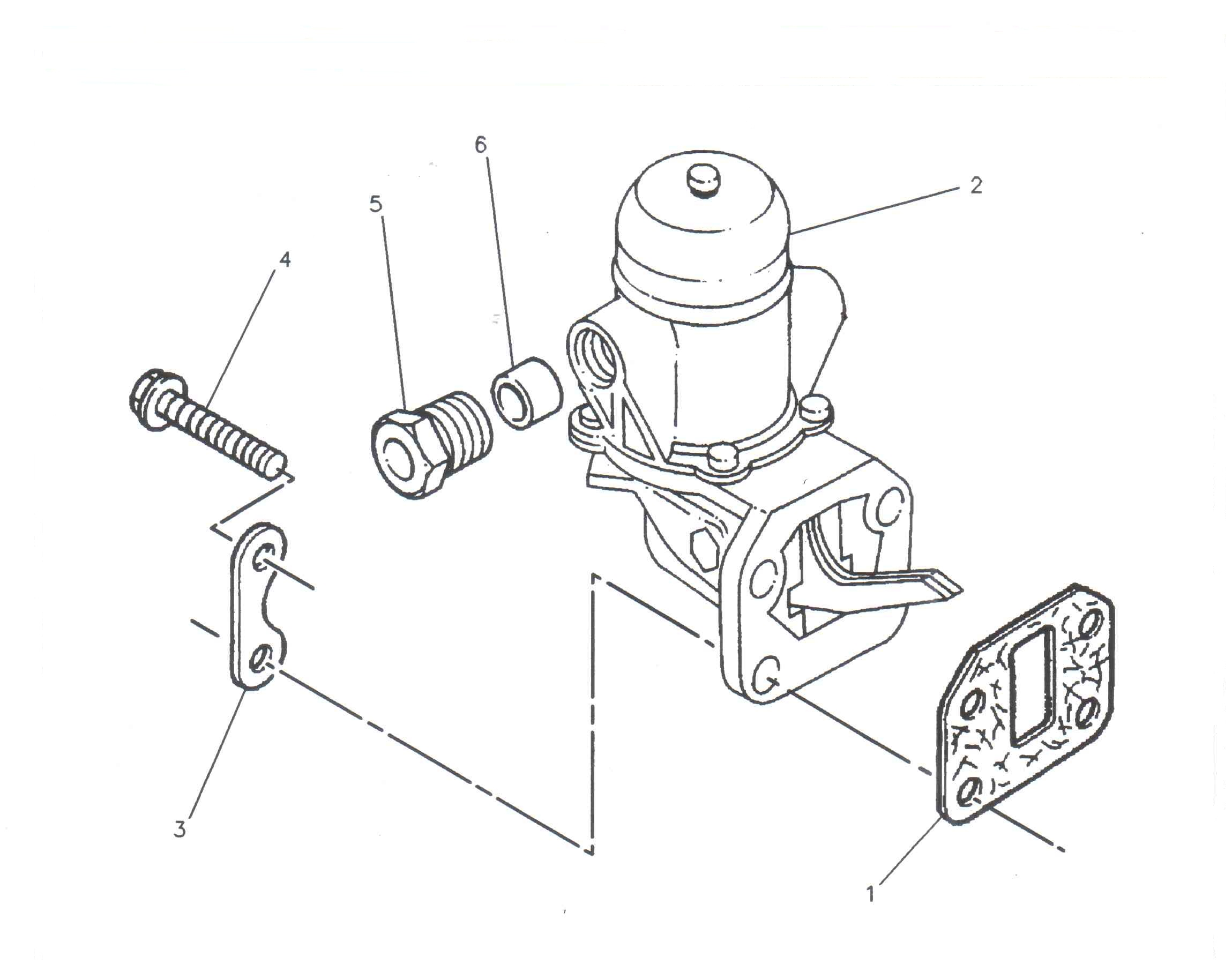 Piston motor utilaje Genie