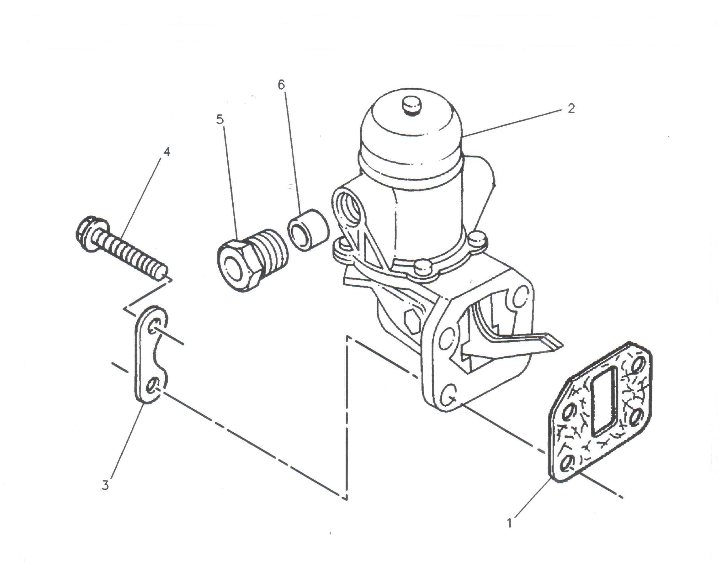 Pompa injectie motor utilaje Steyer