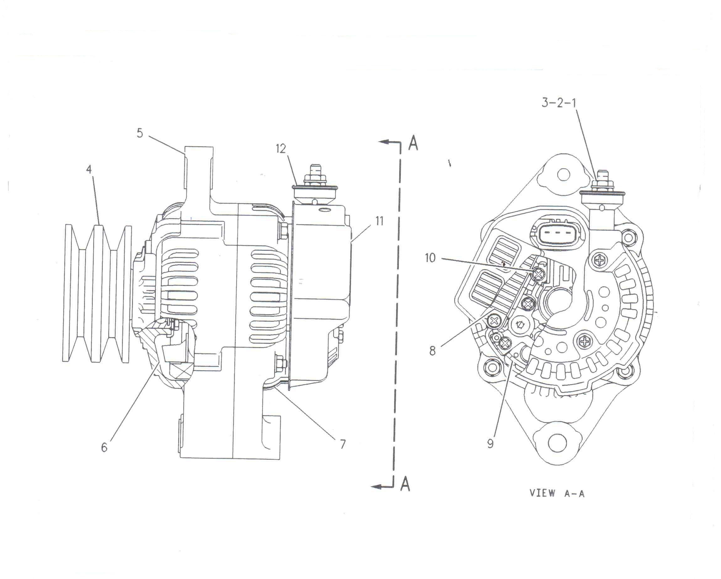 Set segmenti motor utilaje Genie