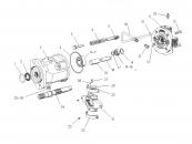 Cuplaj sistem hidraulic utilaje JCB