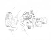 Garnitura chiulasa motor utilaje Mercedes-Unimog