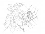 Piston motor utilaje Caterpillar