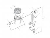 Set segmenti motor utilaje JCB