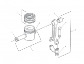 Termostat motor utilaje Manitou