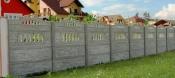 Montare garduri din beton
