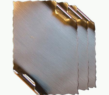 Plachete metalice