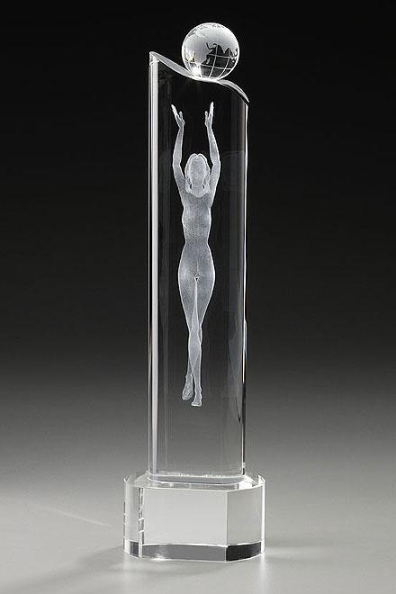 Trofee din cristal