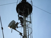 Montare antena gsm