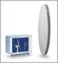 Sistem de detectare a ghetii pe palele turbinelor eoliene