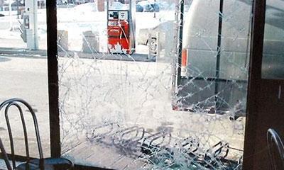 Folie securizare sticla