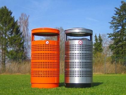 Cos de gunoi inox, DS 70 litri