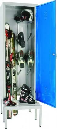 Dulapuri metalice pentru echipamente de schi