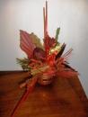 Aranjamente ikebana din flori uscate