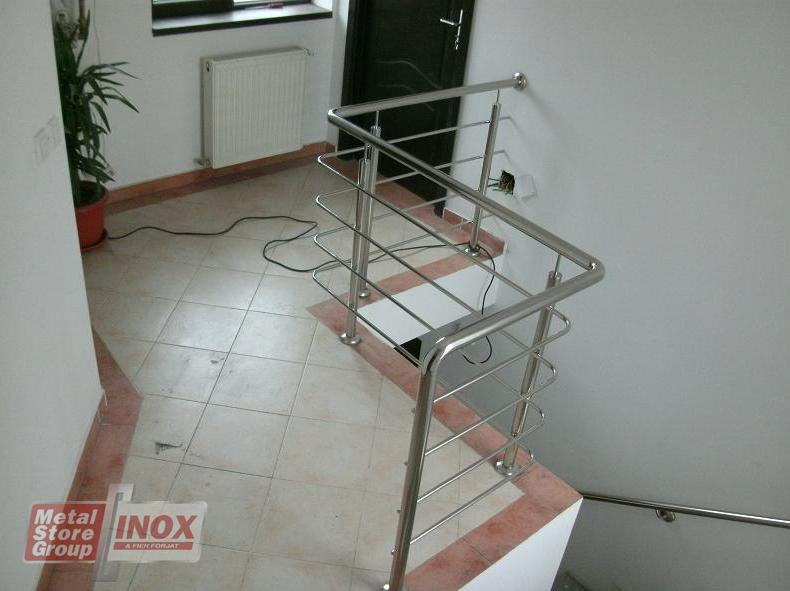 Balustrade inox interior
