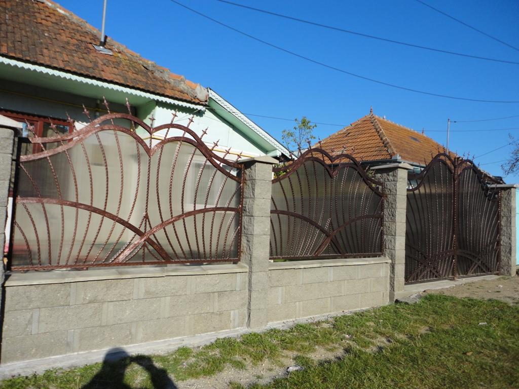 Gard fier forjat Bacau
